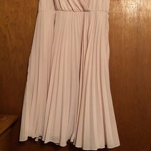 Light Pink Baby Doll Style Dress